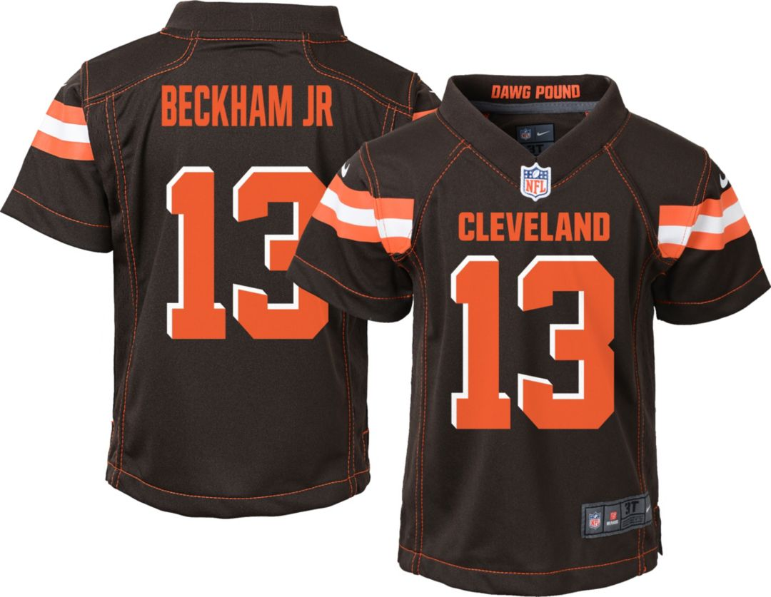 new concept d35ff f0383 Nike Toddler Home Game Jersey Cleveland Browns Odell Beckham Jr. #13