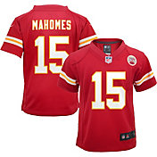 Nike Toddler Kansas City Chiefs Patrick Mahomes #15 Red Game Jersey