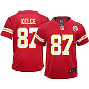 Nike Toddler Kansas City Chiefs Travis Kelce #87 Red Game Jersey