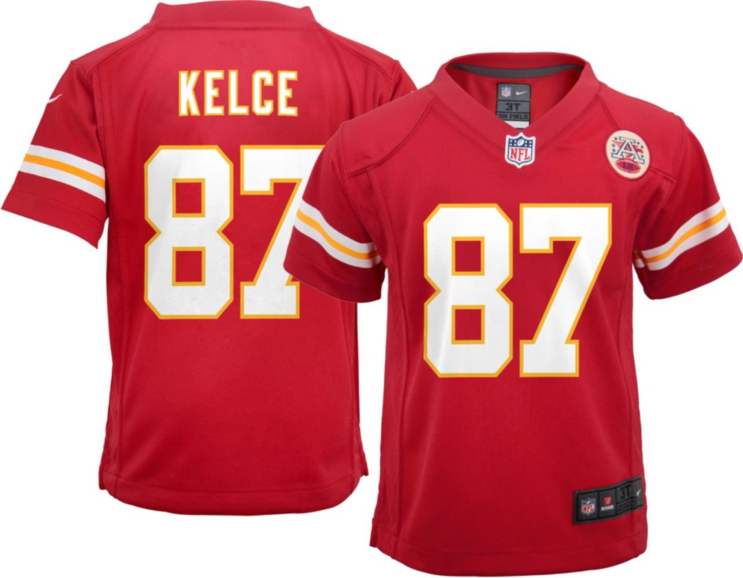 online retailer cbca7 fdabb Nike Toddler Home Game Jersey Kansas City Chiefs Travis Kelce #87