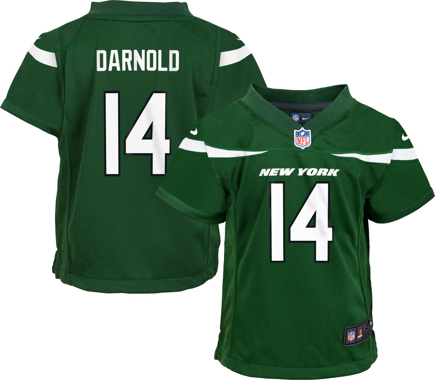 Nike Toddler Home Game Jersey New York Jets Sam Darnold #14