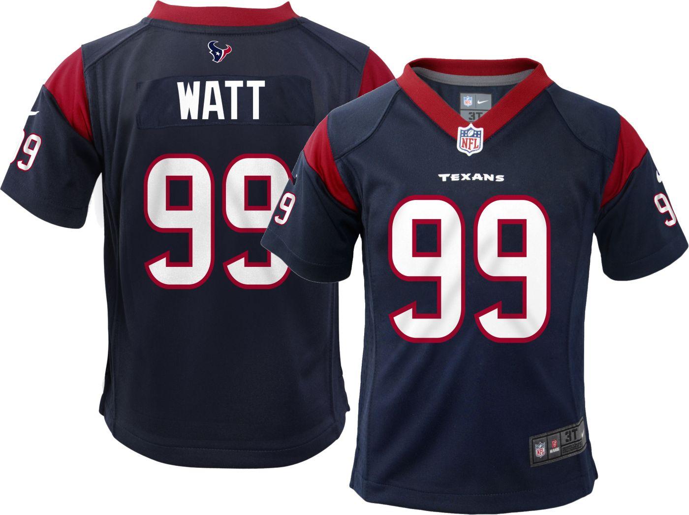 buy popular 27098 0ff36 Nike Toddler Home Game Jersey Houston Texans J.J. Watt #99