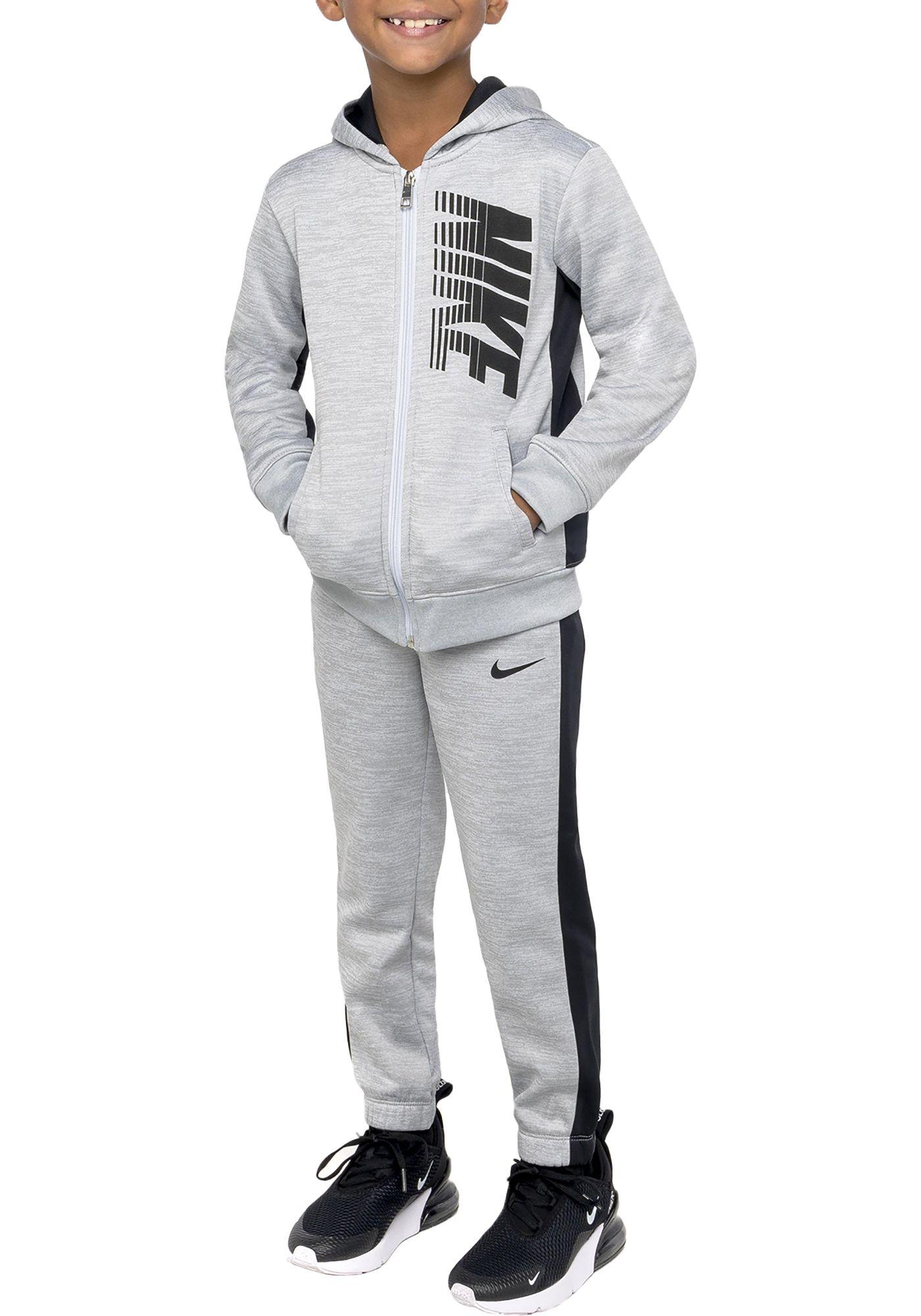 Nike Little Boys' Therma Fleece Zip Hoodie and Pants Set