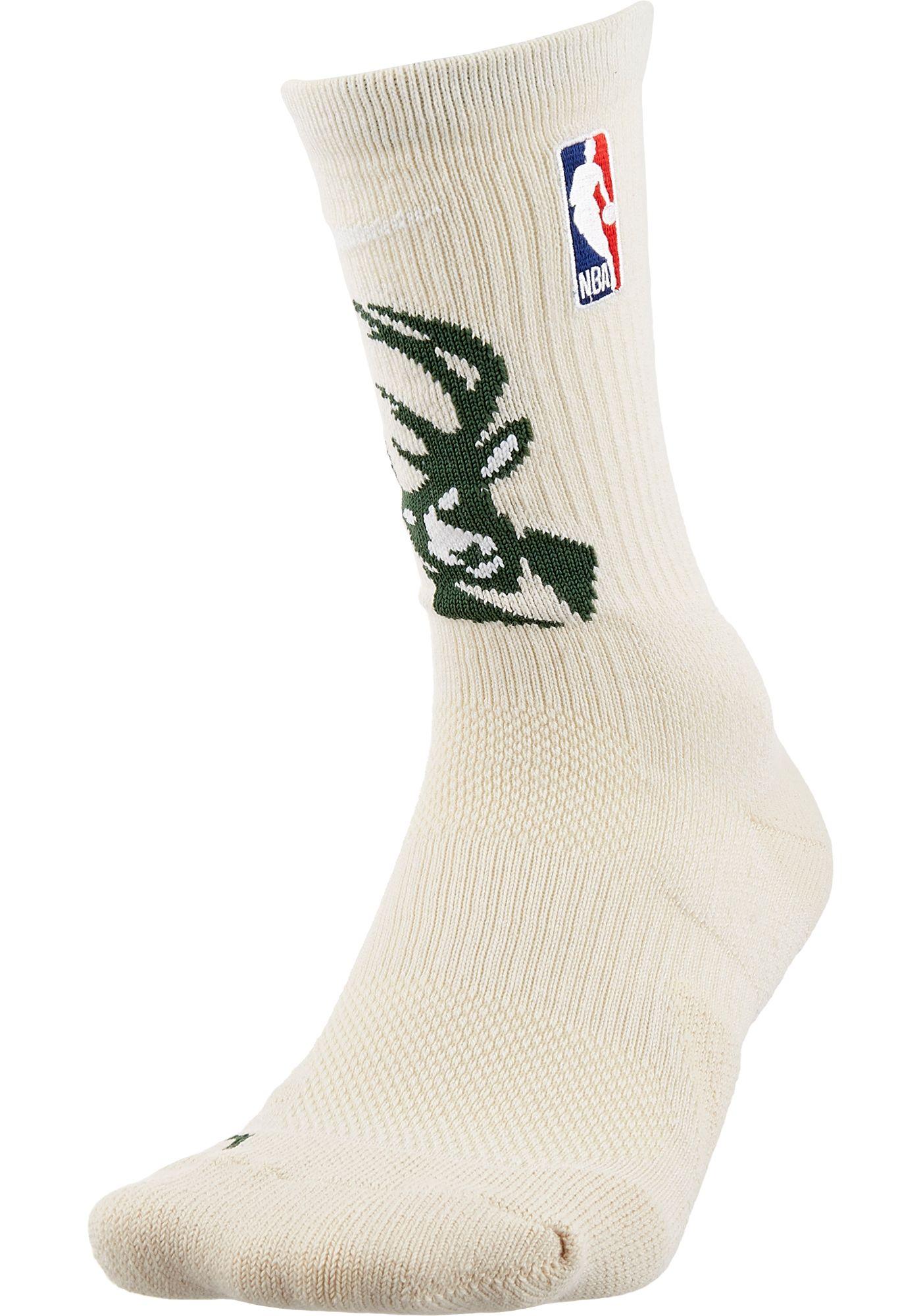 Nike Milwaukee Bucks Elite Crew Socks