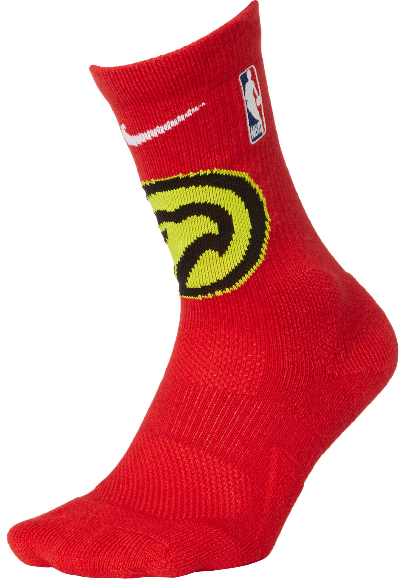 Nike Atlanta Hawks Elite Crew Socks