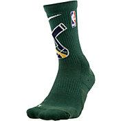 Nike Utah Jazz Elite Crew Socks