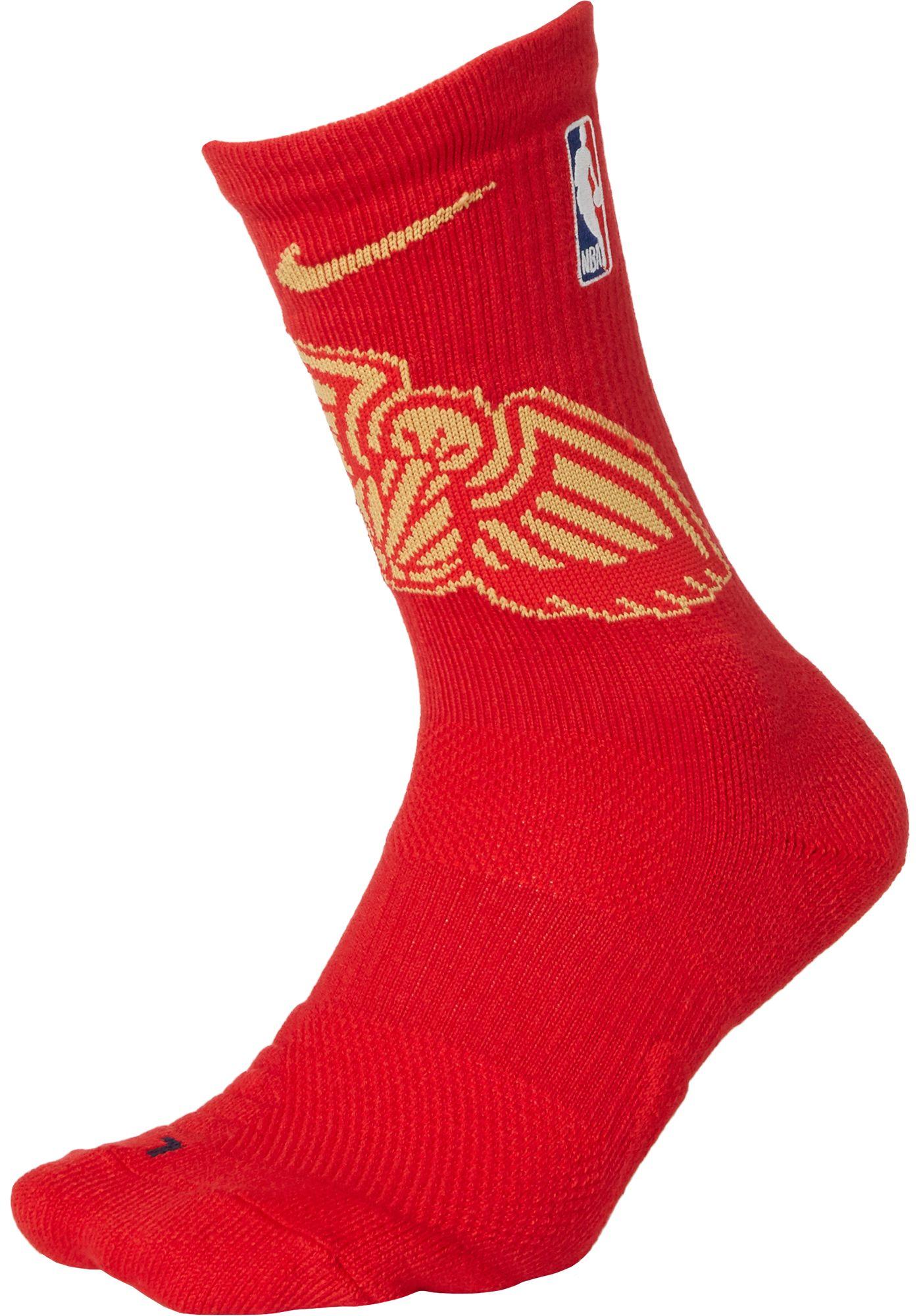 Nike New Orleans Pelicans Elite Crew Socks