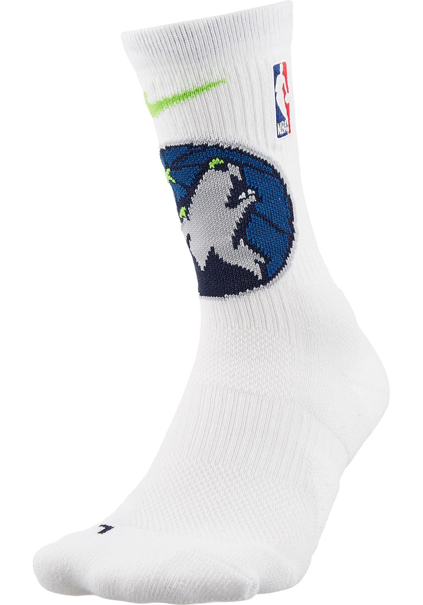 Nike Minnesota Timberwolves Elite Crew Socks