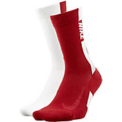 Nike Alabama Crimson Tide Basketball Crew Socks 2 Pack