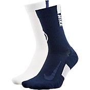 Nike Penn State Nittany Lions Basketball Crew Socks 2 Pack