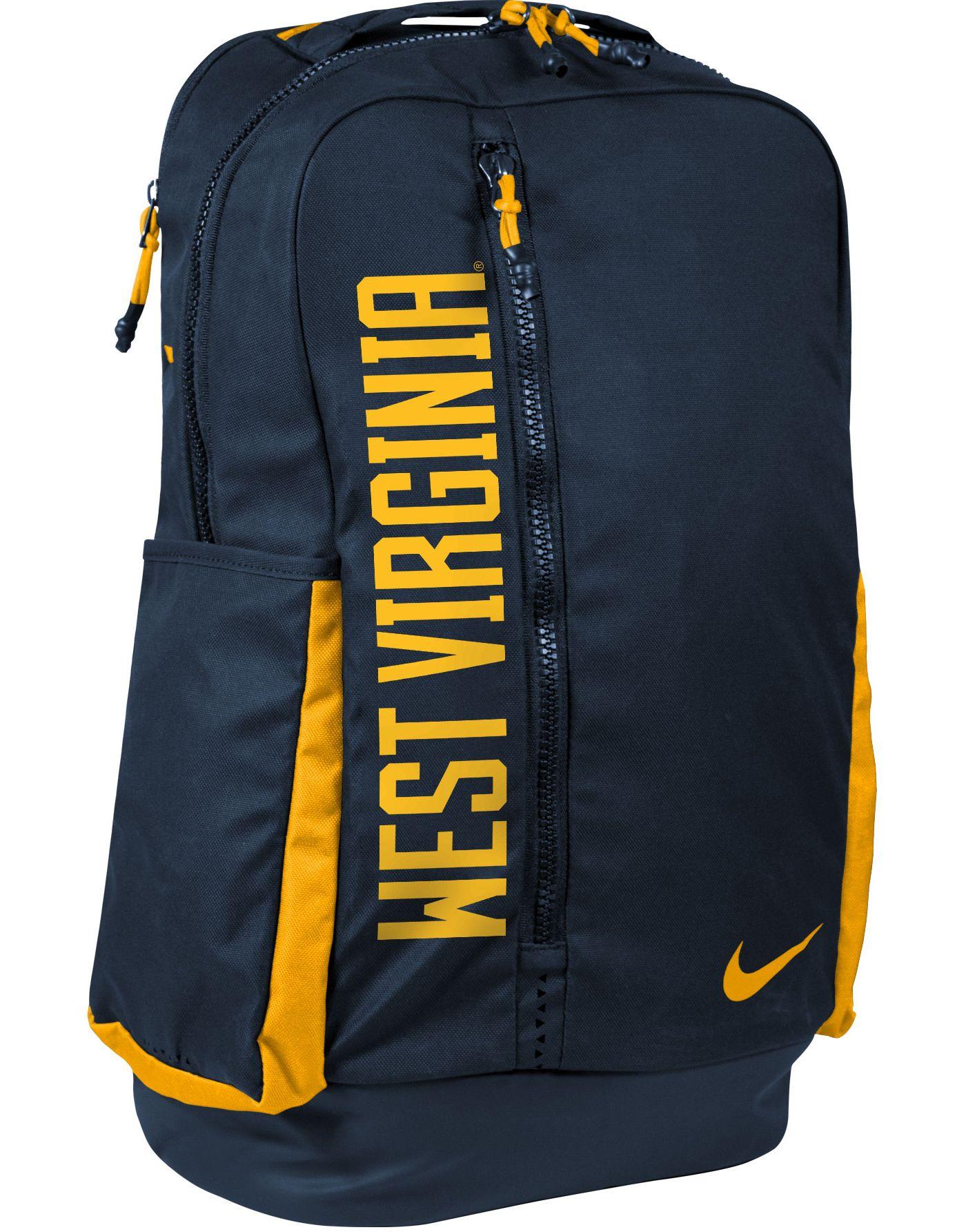 Nike West Virginia Mountaineers Vapor Power Backpack