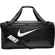 Personalized Cross Bats Gym Bag Lime Shock//Black all about me company Large Active Duffel Bag