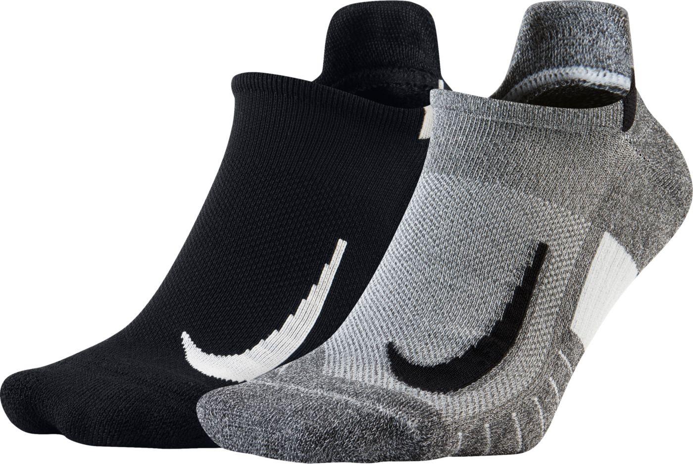 Nike Running No-Show Socks 2-Pack