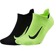 Nike Running No-Show Socks - 2 Pack