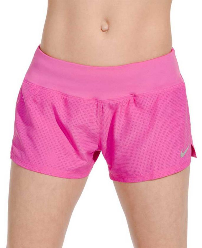 "Nike Women's Dri FIT Cool Crew 3"" Running Shorts"