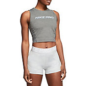 Nike Women's Pro Breathable Cropped Tank Top