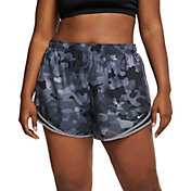Nike Women's Plus Size Camo Printed Tempo Shorts