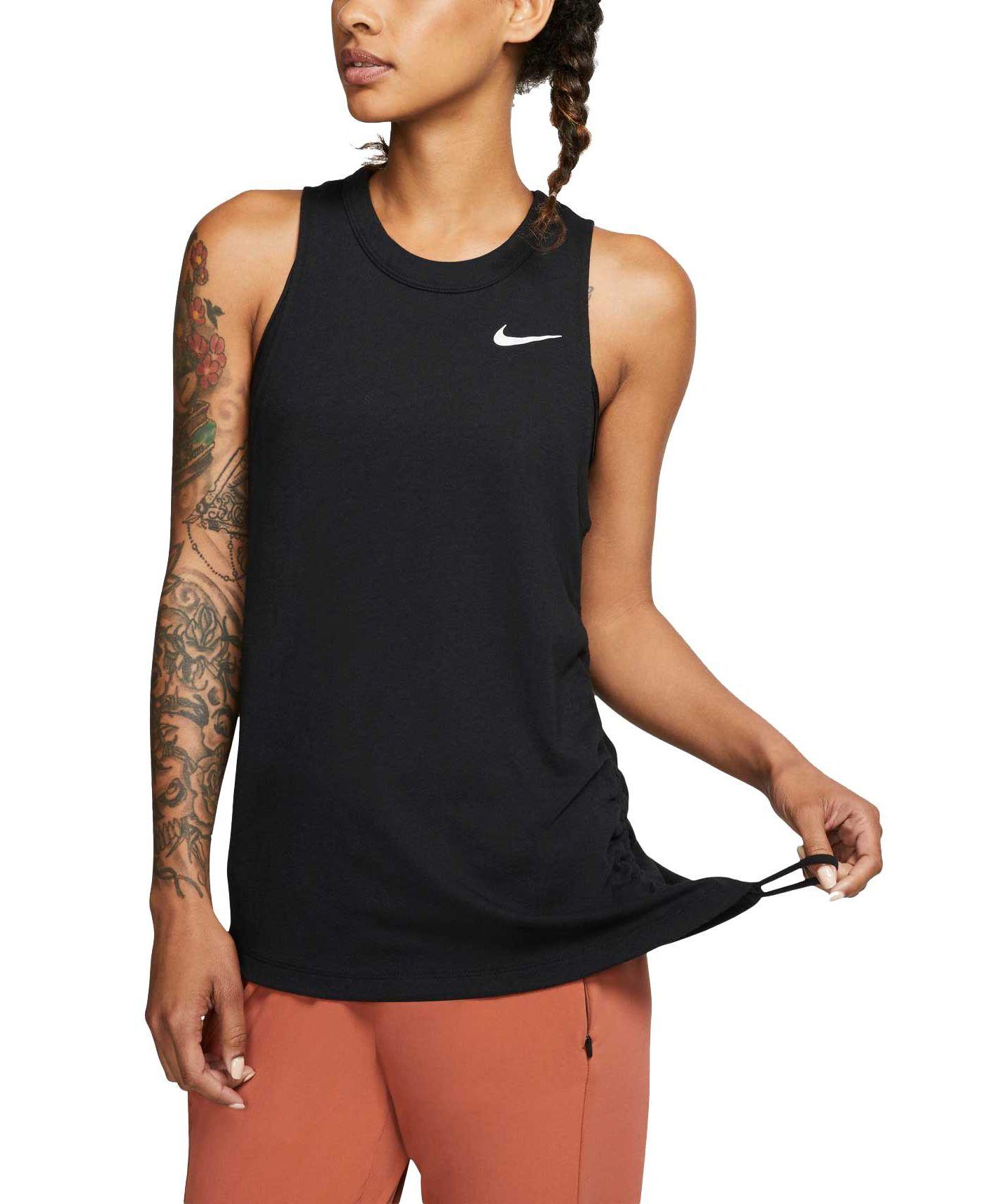 Nike Women's Cinched Miler Running Tank Top