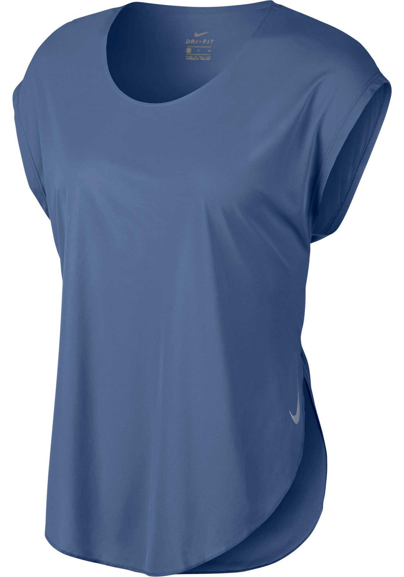 Nike Women's City Sleek Short-Sleeve Running Top