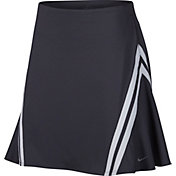 "online retailer bf09f ea439 Product Image · Nike Women s Dri-FIT Side Stripe 17"" Golf Skort"