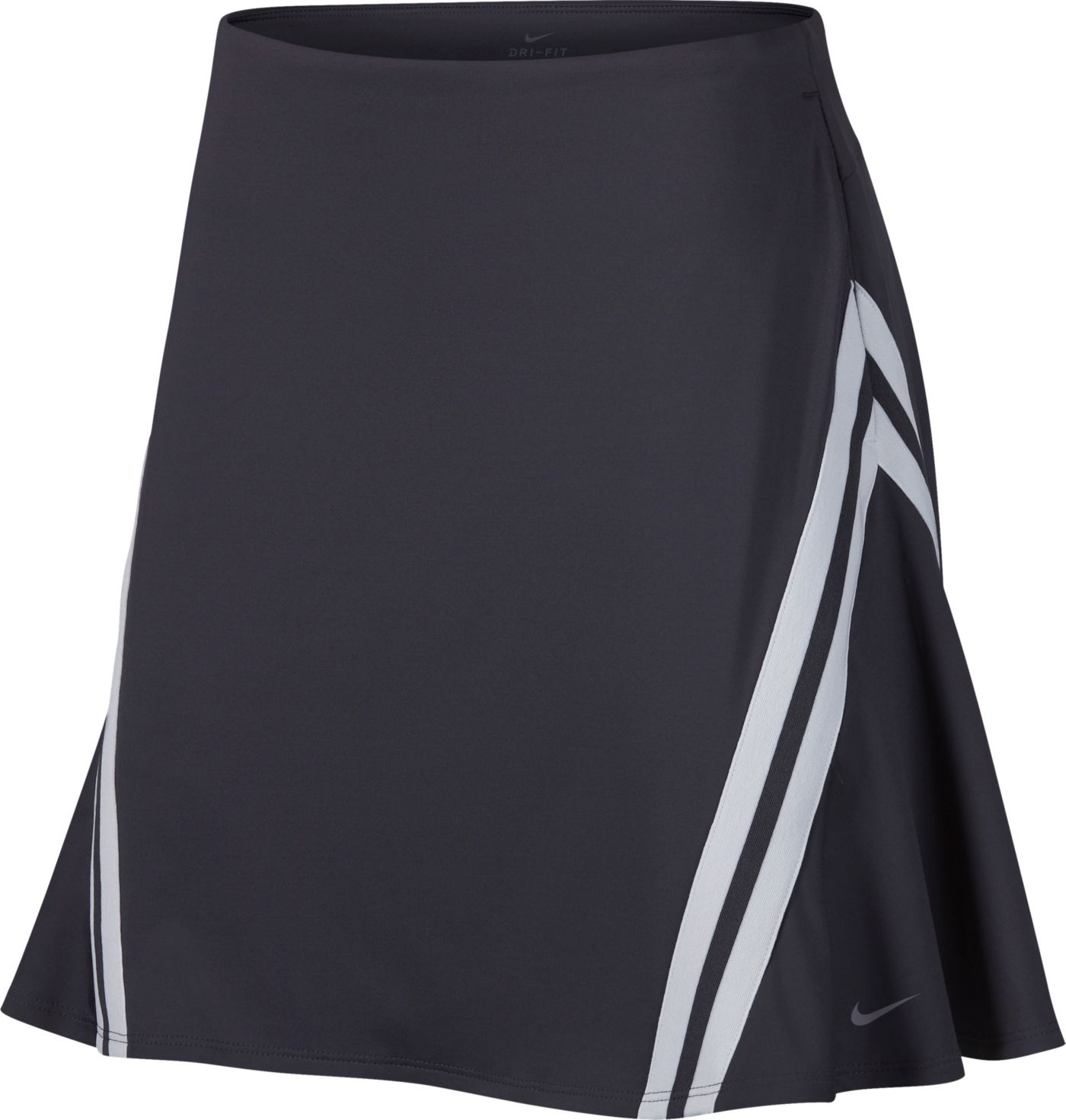 "Nike Women's Dri-FIT Side Stripe 17"" Golf Skort"