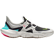 Nike Women's Free RN 5.0 Running Shoes in Grey/Volt/Aurora