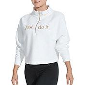 Nike Women's Funnel Neck ½ Zip Pullover Top