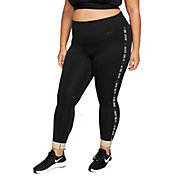 Nike One Women's Plus Size Glam Dunk 7/8 Training Tights