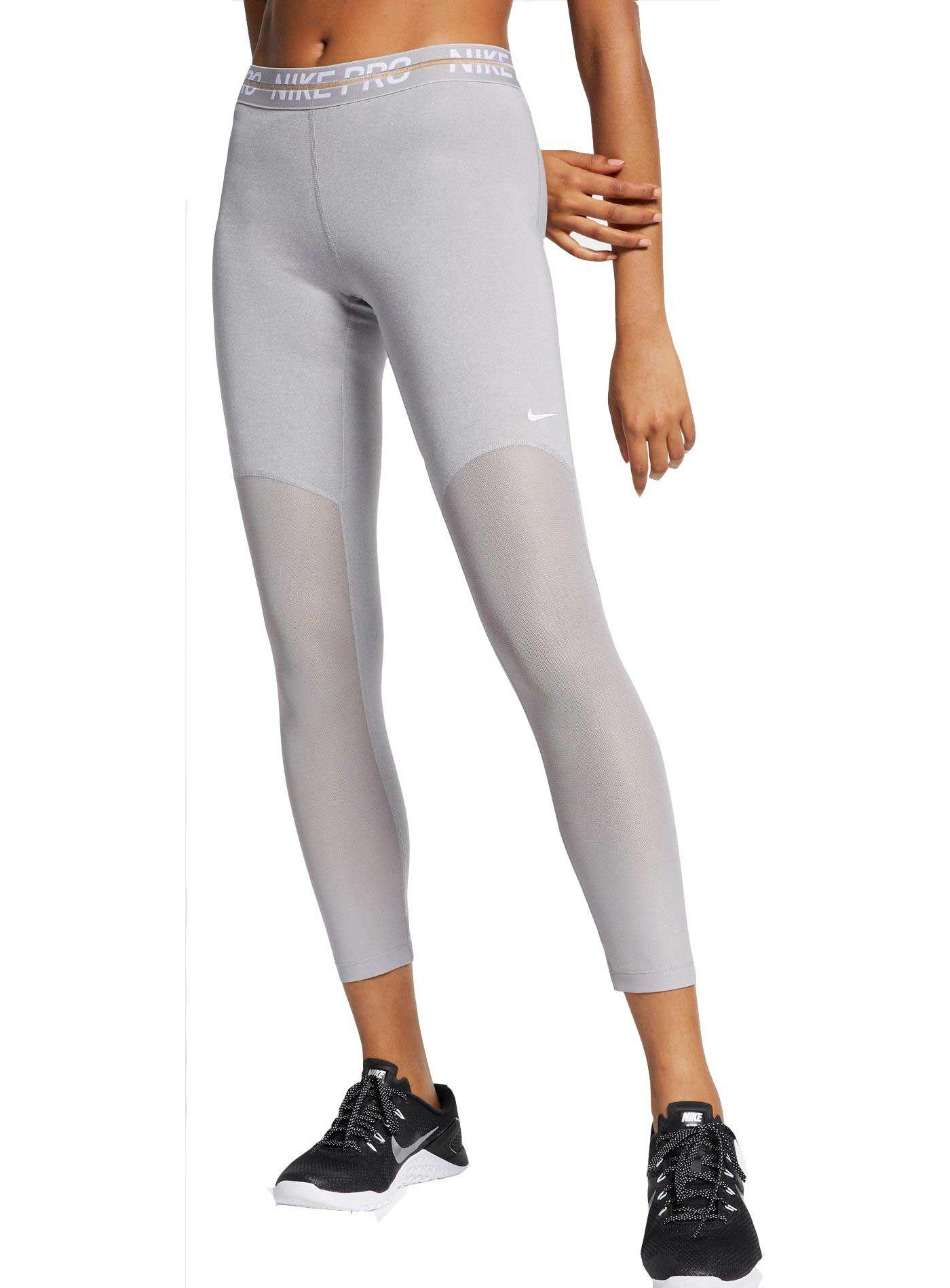 Women's Nike Pro Heatherized 7/8 Leggings
