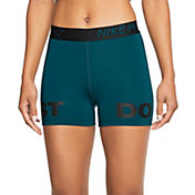 "Nike Pro Women's 3"" Just Do It Marble Shorts"