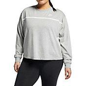 Nike Women's Plus Size Sportswear Jersey Crewneck