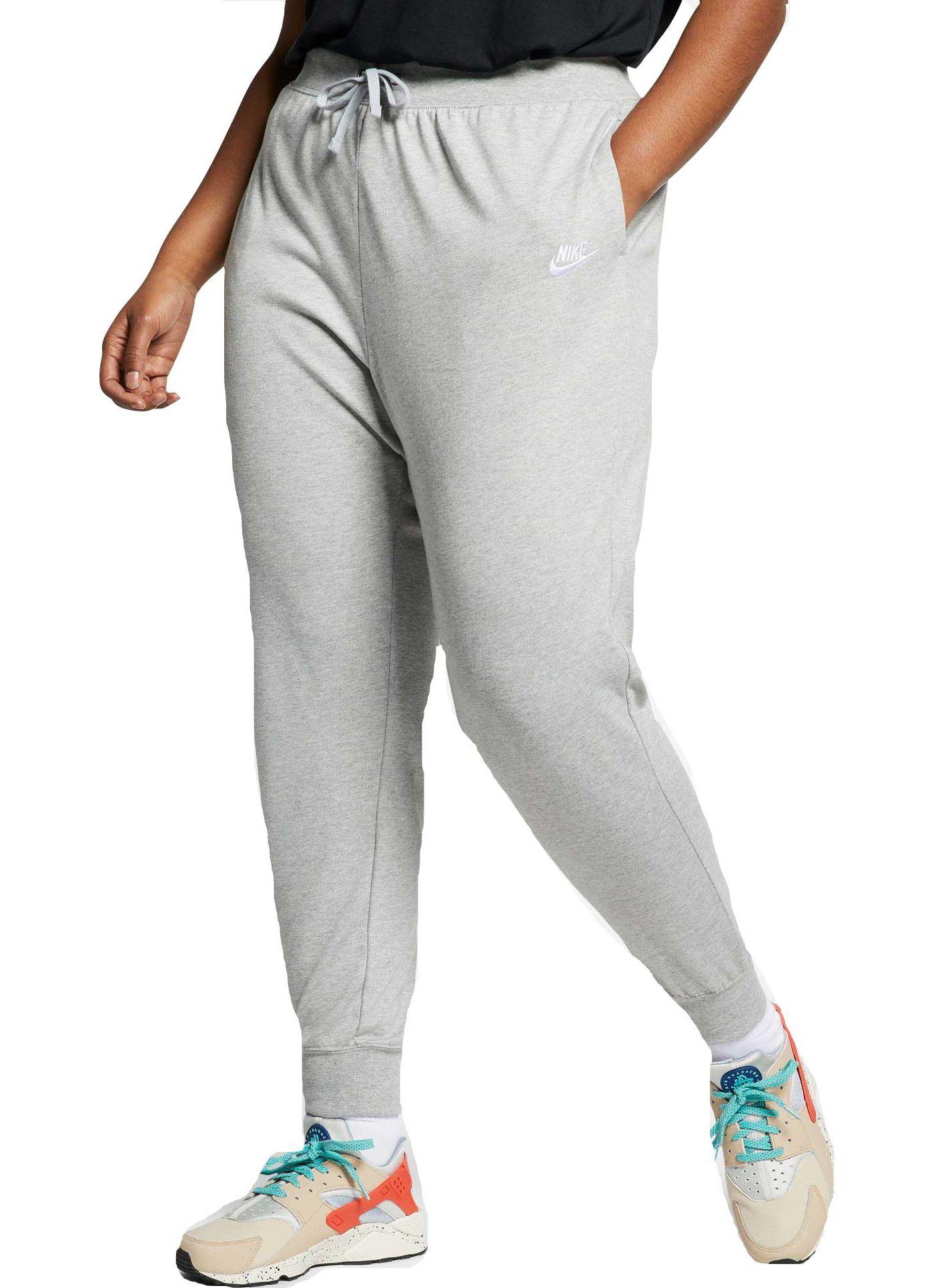Nike Women's Plus Size Sportswear Jersey Pants