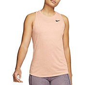 Nike Women's Dri-FIT Legend Fashion Heather Training Tank Top