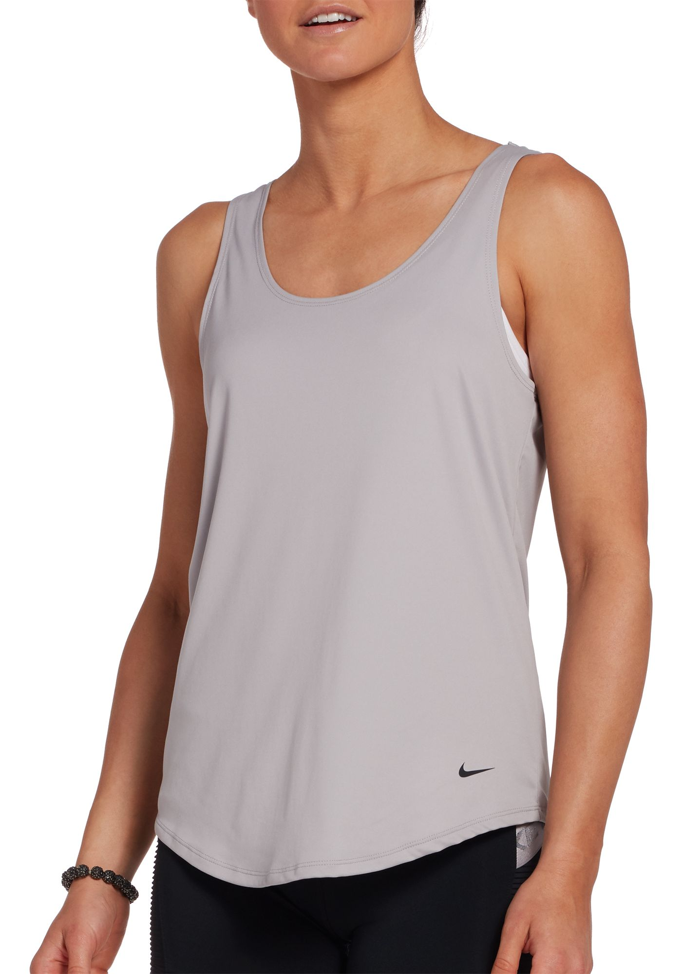 Nike Women's Dri-FIT Elastika Double Strap Training Tank