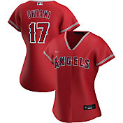 Nike Women's Replica Los Angeles Angels Shohei Ohtani #17 Cool Base Red Jersey