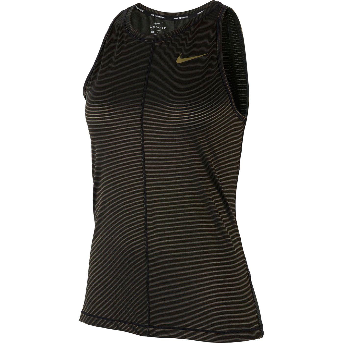 Nike Women's Miler Shine Running Tank Top