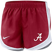 Nike Women's Alabama Crimson Tide Crimson Dri-FIT Tempo Shorts