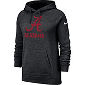 Nike Women's Alabama Crimson Tide Rally Pullover Black Hoodie