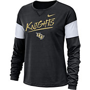 Nike Women's UCF Knights Dri-FIT Breathe Long Sleeve Black T-Shirt