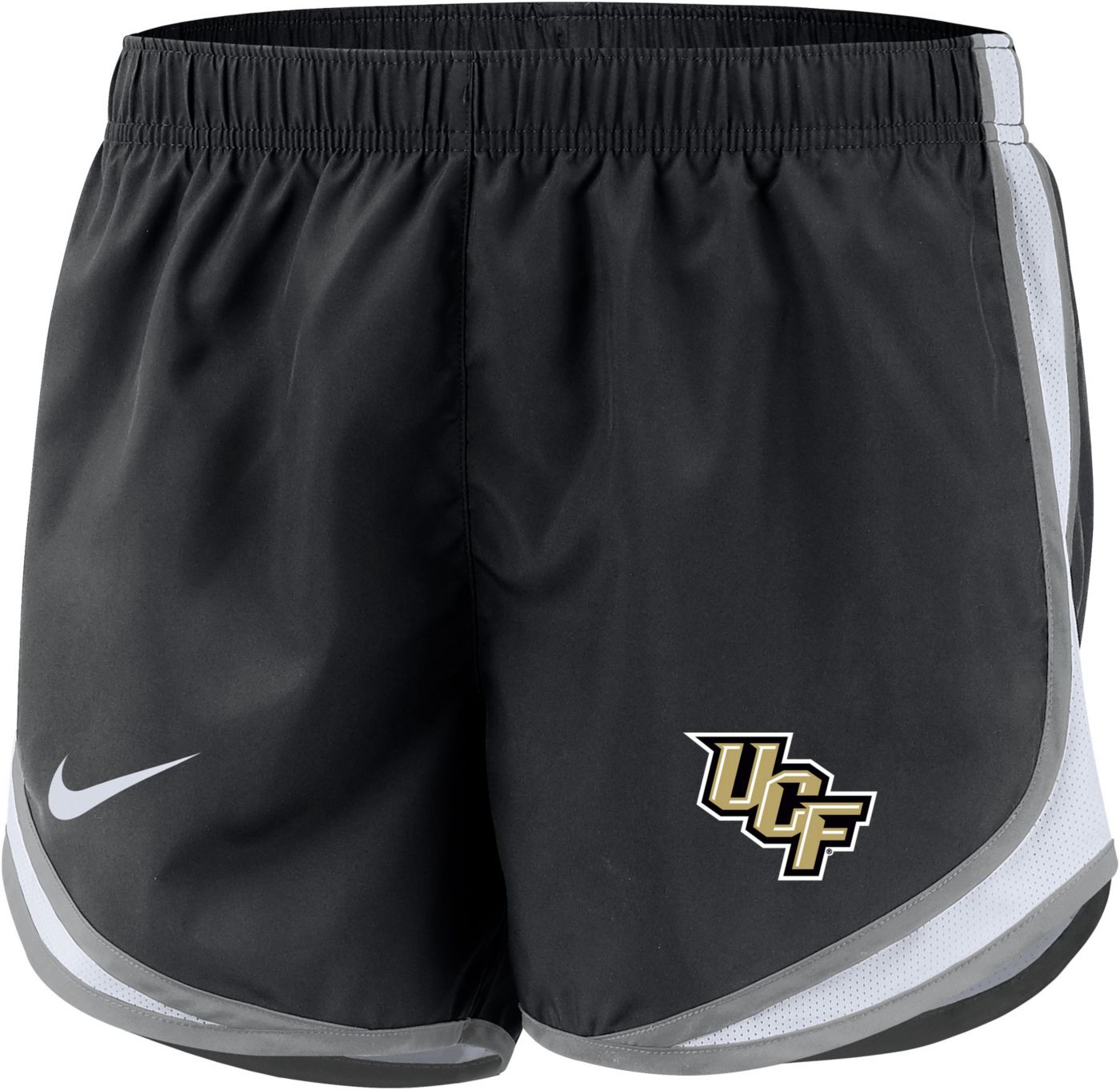 Nike Women's UCF Knights Dri-FIT Tempo Black Shorts