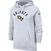 Nike Women's UCF Knights Grey Rally Pullover Hoodie
