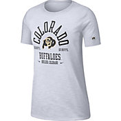 Nike Women's Colorado Buffaloes Slub White T-Shirt