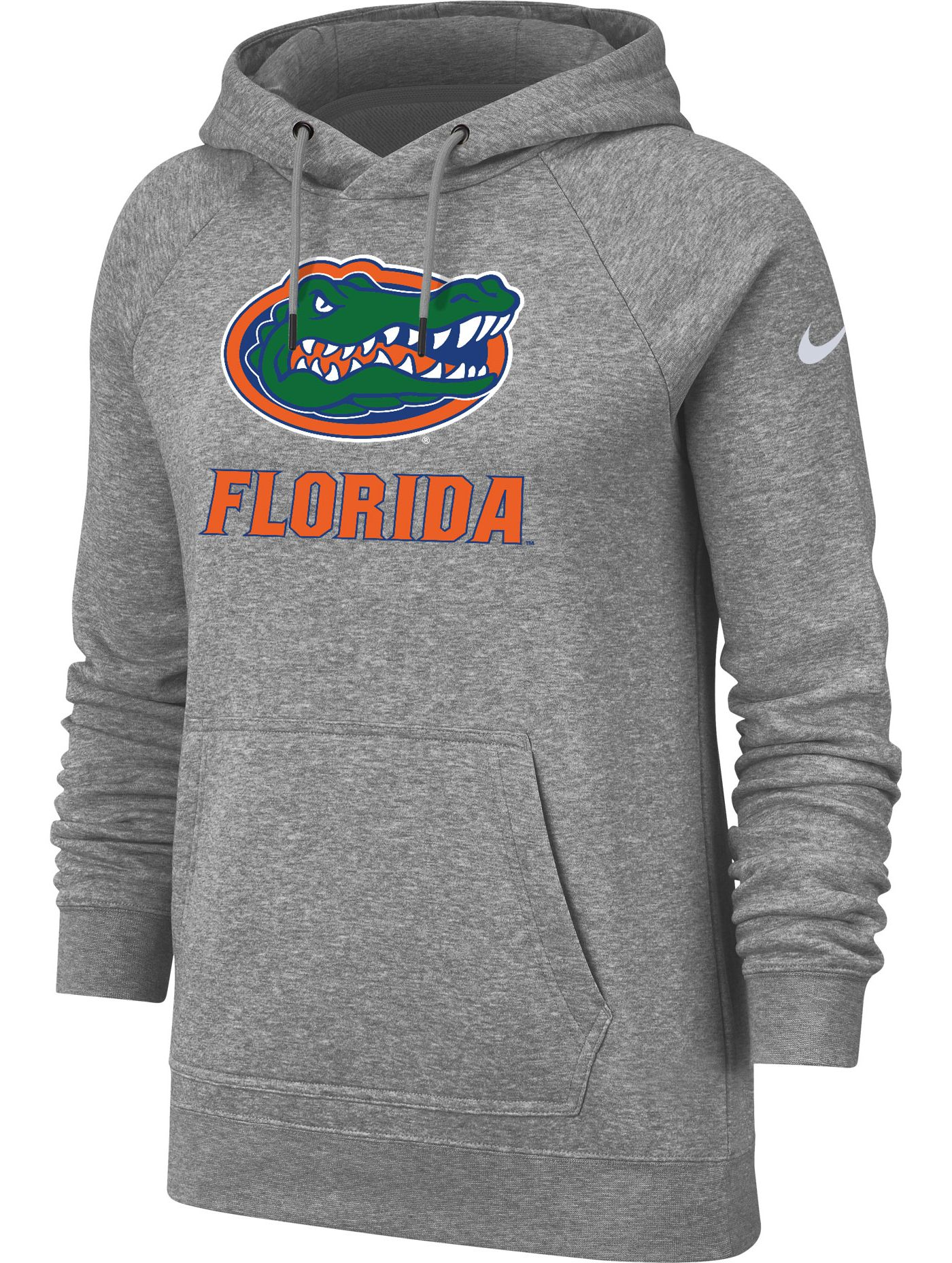 Nike Women's Florida Gators Grey Rally Pullover Hoodie