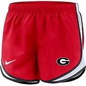 Nike Women's Georgia Bulldogs Red Dri-FIT Tempo Shorts