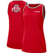 Nike Women's Ohio State Buckeyes Scarlet Dri-FIT Tomboy Tank Top