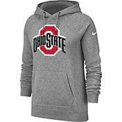 Nike Women's Ohio State Buckeyes Gray Rally Pullover Hoodie