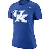 Nike Women's Kentucky Wildcats Blue Dri-FIT Cotton Logo T-Shirt