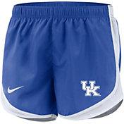 Nike Women's Kentucky Wildcats Blue Dri-FIT Tempo Shorts