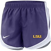 Nike Women's LSU Tigers Purple Dri-FIT Tempo Shorts
