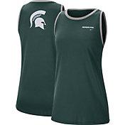 Nike Women's Michigan State Spartans Green Dri-FIT Tomboy Tank Top